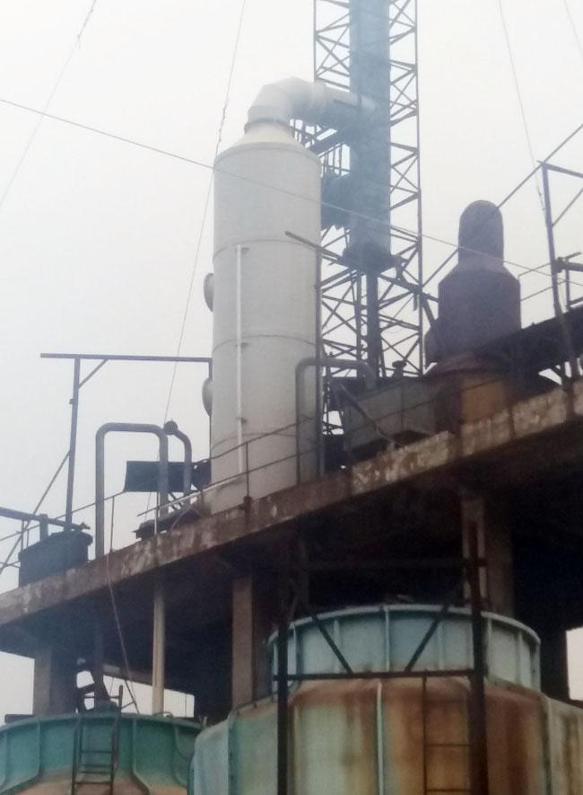 四川合力3万吨制酸系统尾气净化工程